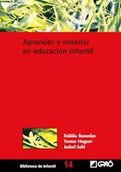 Libro Aprender Y Enseñar En Educacion Infantil