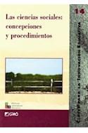 Papel CIENCIAS SOCIALES CONCEPCIONES Y PROCEDIMIENTOS (COLECCION CLAVES PARA LA INNOVACION EDUCATIVA)
