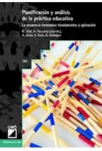 Papel PLANIFICACION Y ANALISIS DE LA PRACTICA EDUCATIVA