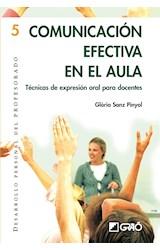 Papel COMUNICACION EFECTIVA EN EL AULA (TECNICAS DE EXPRESION ORAL