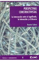 Papel PERSPECTIVAS CONSTRUCTIVISTAS (LA INTERSECCION ENTRE EL SIGN
