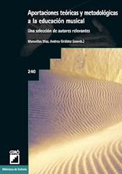 Libro Aportaciones Teoricas Y Metodologicas A La Educa