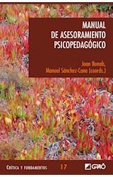Papel MANUAL DE ASESORAMIENTO PSICOPEDAGOGICO