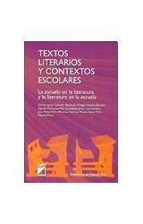 Papel TEXTOS LITERARIOS Y CONTEXTOS ESCOLARES