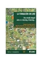 Papel FORMACION ON-LINE, LA (UNA MIRADA INTEGRAL SOBRE EL E-LEARNI