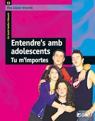 Libro Entendre''S Amb Adolescents.