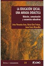 Papel EDUCACION SOCIAL, LA. UNA MIRADA DIDACTICA