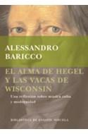 Papel ALMA DE HEGEL Y LAS VACAS DE WISCONSIN UNA REFLEXION SO