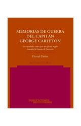 Papel MEMORIAS DE GUERRA DEL CAPITAN GEORGE CARLETON