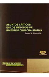 Papel Asuntos críticos en los métodos de investigación cualitativa