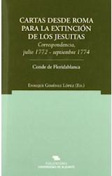 Papel Cartas desde Roma para la extinción de los jesuítas