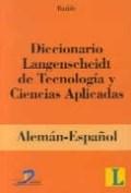 Libro Diccionario Langenscheidt De Tecnologia Y Ciencias Aplicadas Aleman-Español