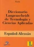 Libro Diccionario Langenscheidt De Tecnologia Y Ciencias Aplicadas Español-Aleman