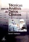 Papel Tecnicas Para El Analisis De Datos Clinicos