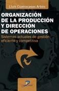 Libro Organizacion De La Produccion Y Direccion De Operaciones