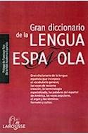 Papel GRAN DICCIONARIO DE LA LENGUA ESPAÑOLA (CARTONE) (REAL ACADEMIA ESPAÑOLA)
