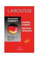Papel DICCIONARIO LAROUSSE COMPACT (ESPAÑOL / ALEMAN) (DEUTSCH / SPANISCH) (CARTONE)
