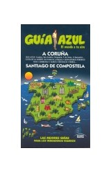 Papel La Coruña y Santiago de Compostela. Guía Azul 2010