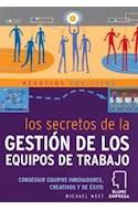 Papel SECRETOS DE LA GESTION DE LOS EQUIPOS DE TRABAJO