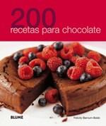 Papel 200 RECETAS PARA CHOCOLATE (ILUSTRADO) (RUSTICA)