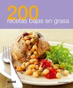 Libro 200 Recetas Bajas En Grasa