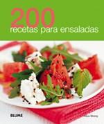 Libro 200 Recetas Para Ensaladas