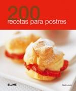 Papel 200 RECETAS PARA POSTRES (ILUSTRADO) (RUSTICA)