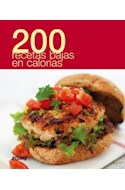 Papel 200 RECETAS BAJAS EN CALORIAS (ILUSTRADA) (RUSTICA)
