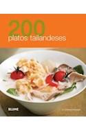 Papel 200 PLATOS TAILANDESES (RUSTICO)