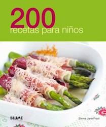 Libro 200 Recetas Para Niños