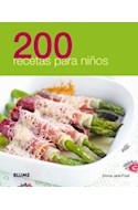 Papel 200 RECETAS PARA NIÑOS (RUSTICO)