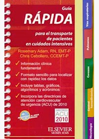 Papel Guía Rápida Para El Transporte De Pacientes En Cuidados Intensivos