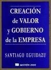 Libro Creacion De Valor Y Gobierno De La Empresa