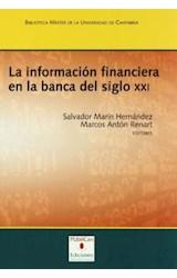Papel LA INFORMACION FINANCIERA EN LA BANCA