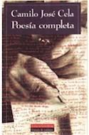 Papel POESIA COMPLETA (CELA CAMILO JOSE) (CARTONE)
