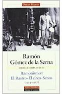 Papel OBRAS COMPLETAS III [RAMONISMO I / EL RASTRO / EL CIRCO /  SENOS] (1914-1917) (CARTONE)