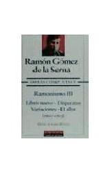 Papel OBRAS COMPLETAS V [RAMONISNO III / LIBRO NUEVO / DISPARATES ] (1920-1923) (CARTONE)