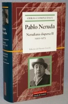 Libro Nerudiana Dispersa Ii (1922-1973)
