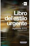 Papel LIBRO DEL ESTILO URGENTE AGENCIA EFE