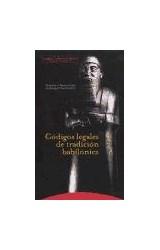 Papel CODIGOS LEGALES DE TRADICION BABILONICA