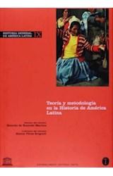 Papel HISTORIA GENERAL DE AMERICA LATINA IX TEORIA Y METODOLOGIA E