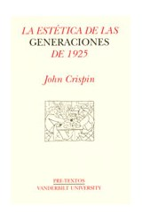 Papel LA ESTETICA DE LAS GENERACIONES DE 1925