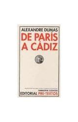 Papel DE PARIS A CADIZ