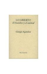 Papel LO ABIERTO EL HOMBRE Y EL ANIMAL
