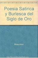 Papel POESIA SATIRICA Y BURLESCA DEL SIGLO DE ORO