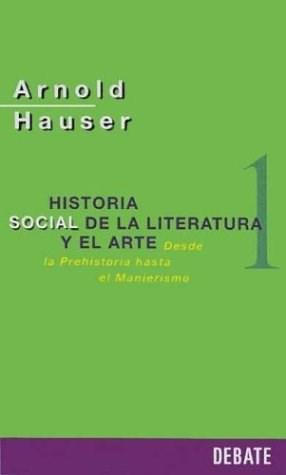 Papel Historia Social De La Literatura Y El Arte 1