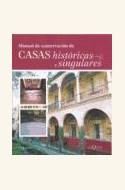 Papel MANUAL DE CONSERVACION DE CASAS HISTORICAS Y SINGULARES 8/06