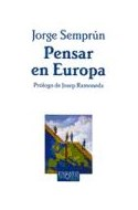 Papel PENSAR EN EUROPA (COLECCION ENSAYO 62)