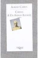 Papel CARTAS A UN AMIGO ALEMAN (COLECCION FABULA)