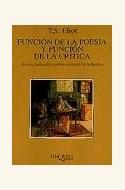 Papel FUNCION DE LA POESIA Y FUNCION DE LA CRITICA